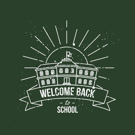 Studies : Welcome back to school poster