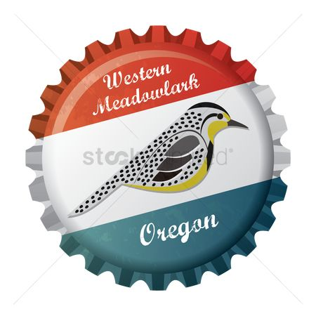 Oregon : Western meadowlark