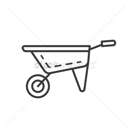 Ferrying : Wheel barrow icon