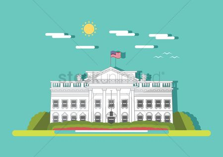 Office  building : White house