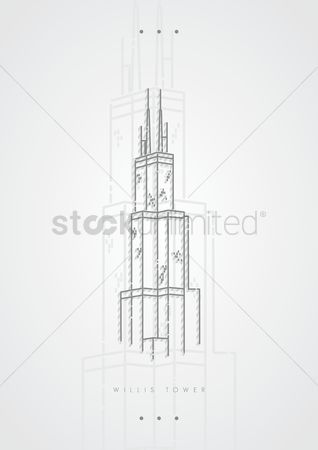 Sears tower : Willis tower