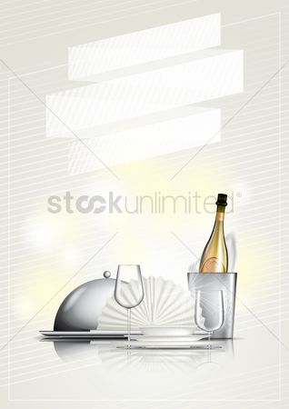 Dine : Wine and dine poster design