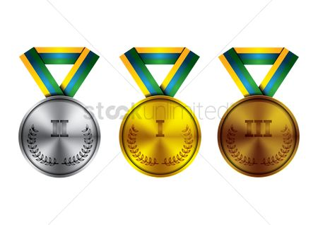 Achievements : Winner medals