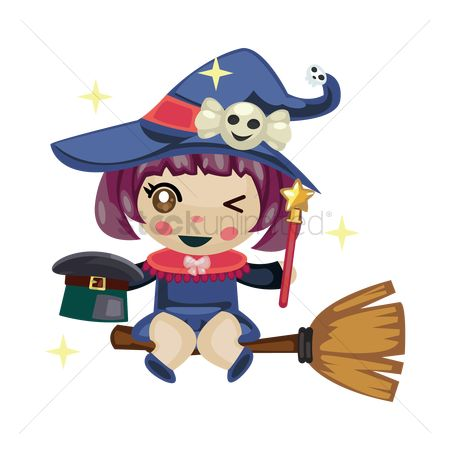 Broom : Witch as a magician