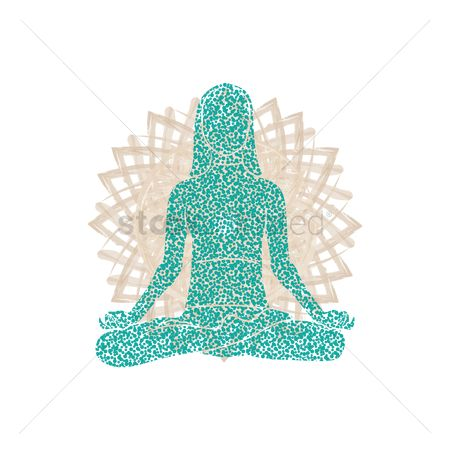 Lifestyle : Woman in meditation