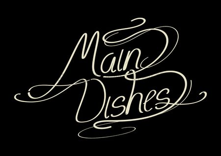 Main : Word main dishes