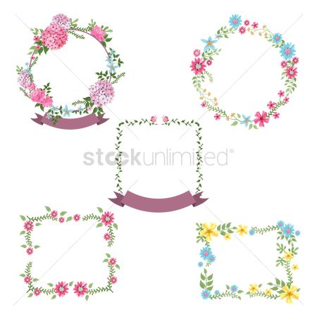 Fashions : Wreath icons pack