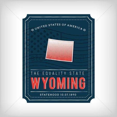 Equality : Wyoming map
