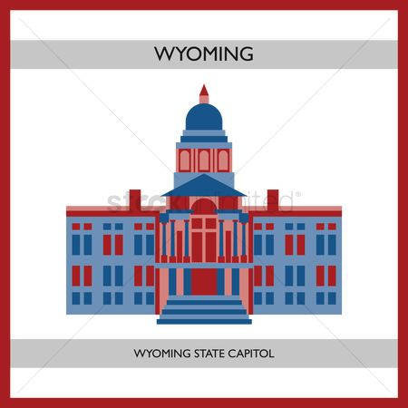Free Wyoming Capitol Building Stock Vectors | StockUnlimited