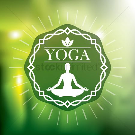 Free Yoga Background Stock Vectors Stockunlimited