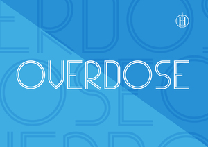 Fonts : Overdose Typeface