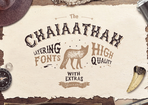 Fonts : Chaiaathah