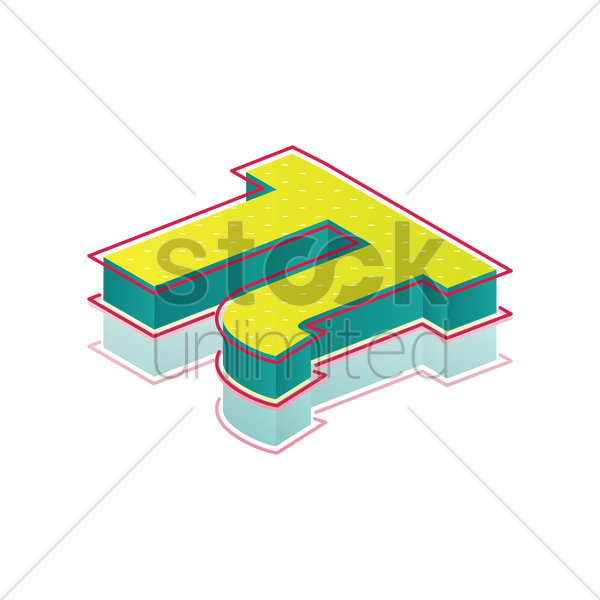 3d Pi Symbol Vector Image 1827831 Stockunlimited