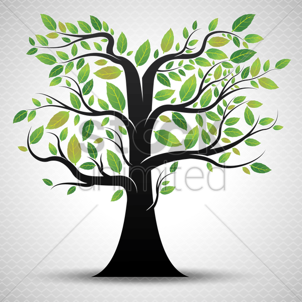 a tree vector graphic