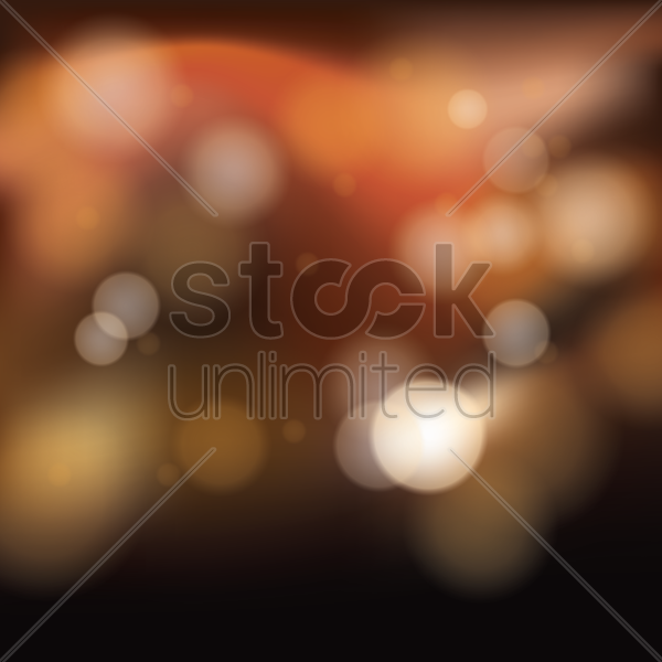 Bokeh background Vector Image - 1993735 | StockUnlimited