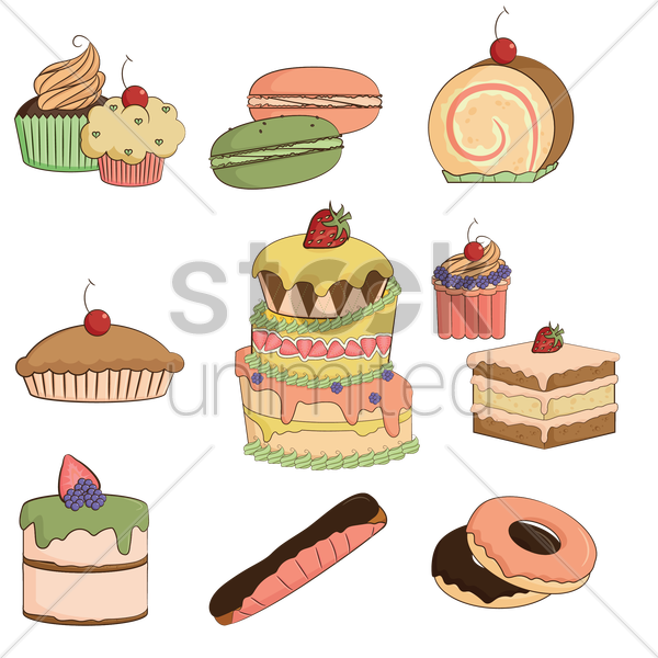 food icons vector graphic