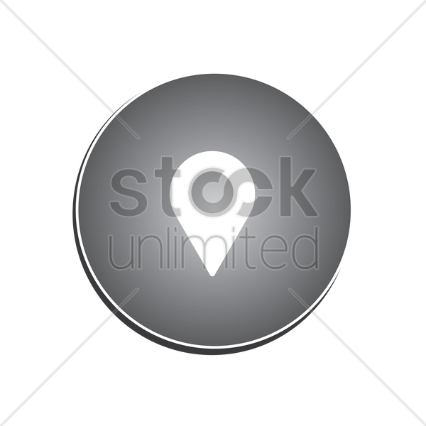 Location marker icon Vector Image - 1633319 | StockUnlimited