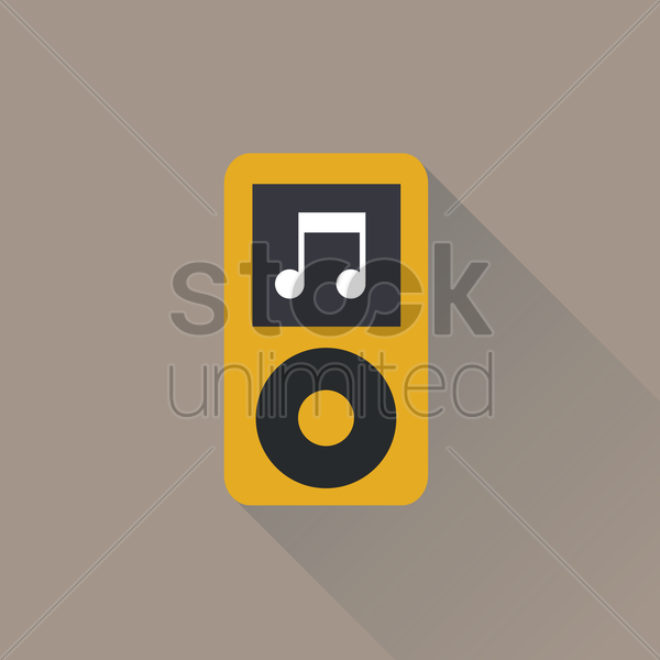 Free Mp3 player Vector Image - 1249879 | StockUnlimited