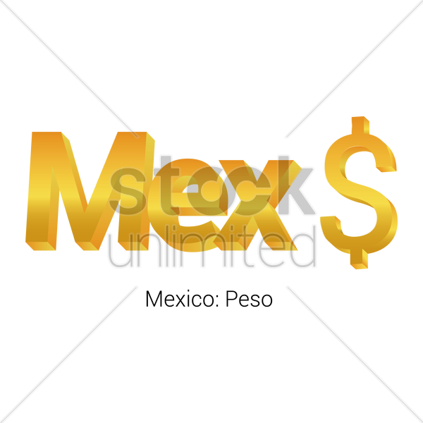 Peso Currency Symbol Vector Image 1821567 Stockunlimited