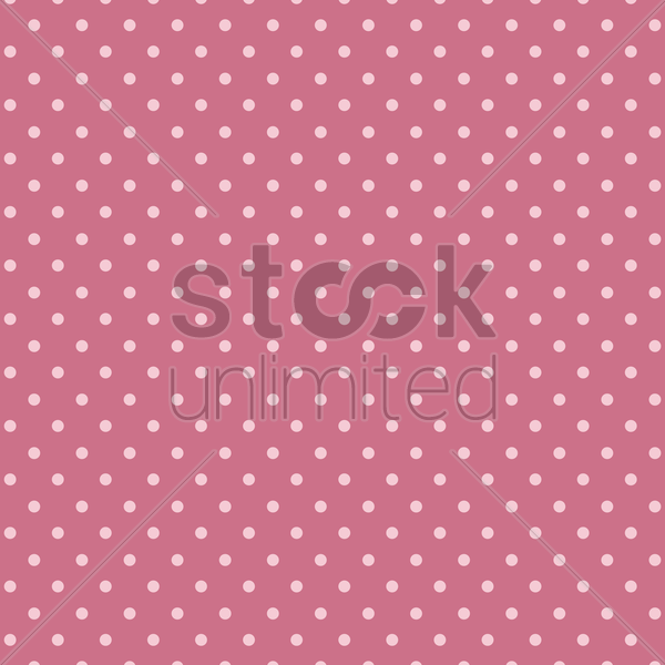 polka dots background vector graphic