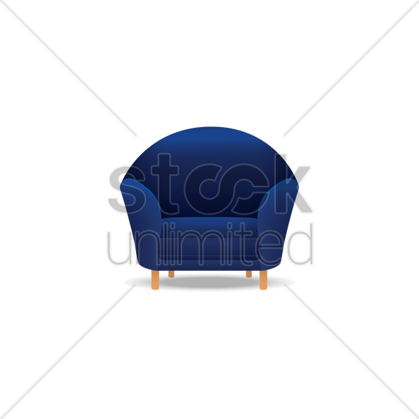 Sofa Vector Image 1327983 Stockunlimited