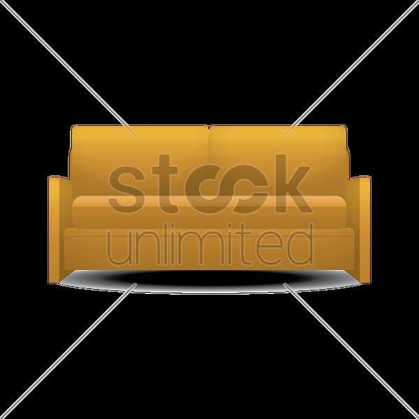 Sofa Vector Image 1347719 Stockunlimited