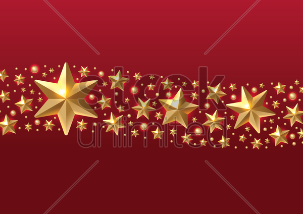 sparkling stars pattern vector graphic