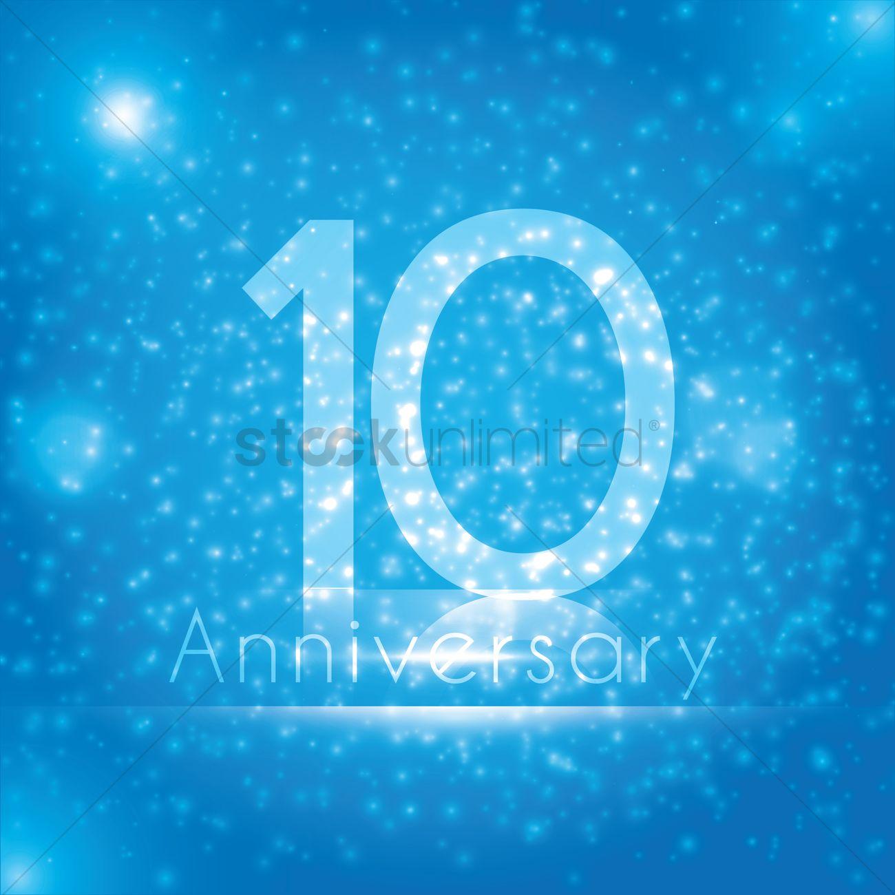 10th anniversary wallpaper vector image 1813135 stockunlimited 10th anniversary wallpaper vector graphic biocorpaavc