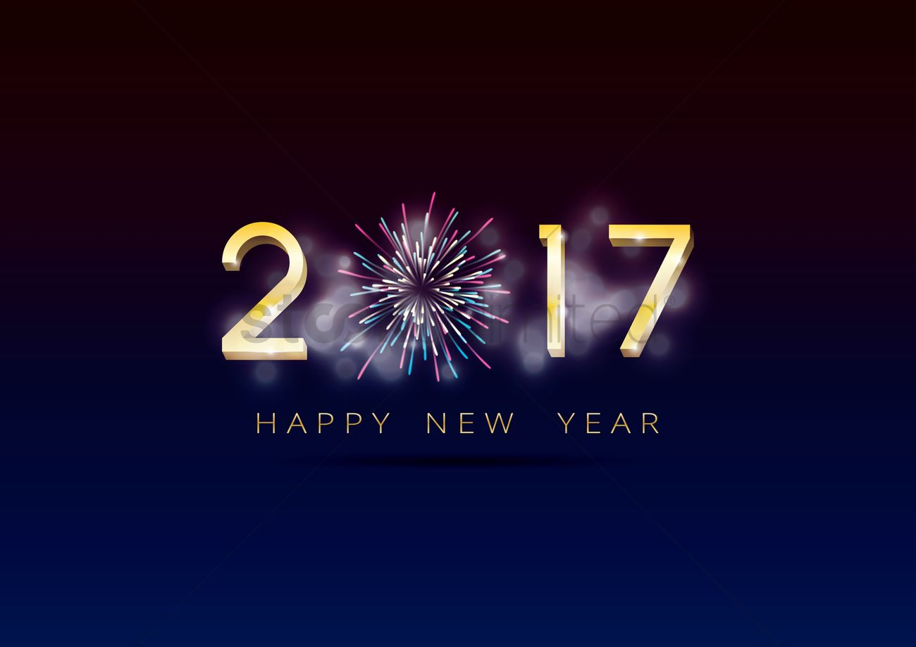 2017 happy new year greeting vector image 1940307 stockunlimited 2017 happy new year greeting vector graphic m4hsunfo
