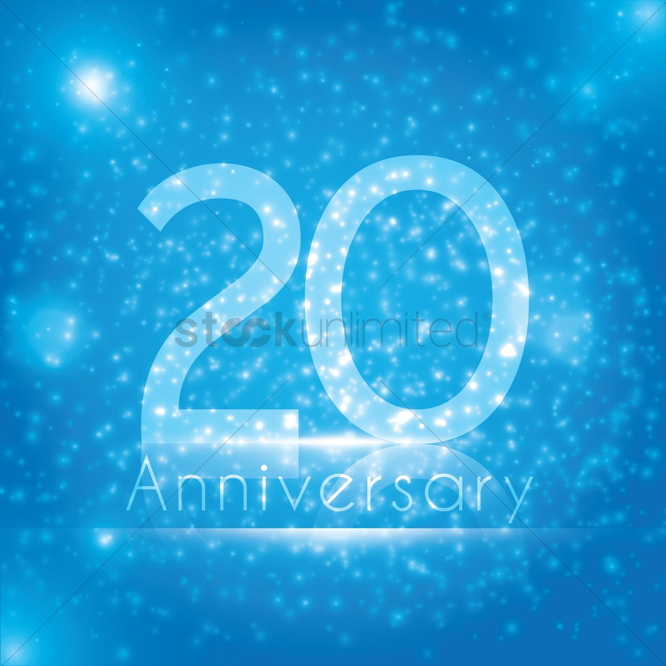 20th Anniversary Wallpaper Vector Image 1813139 Stockunlimited Images, Photos, Reviews