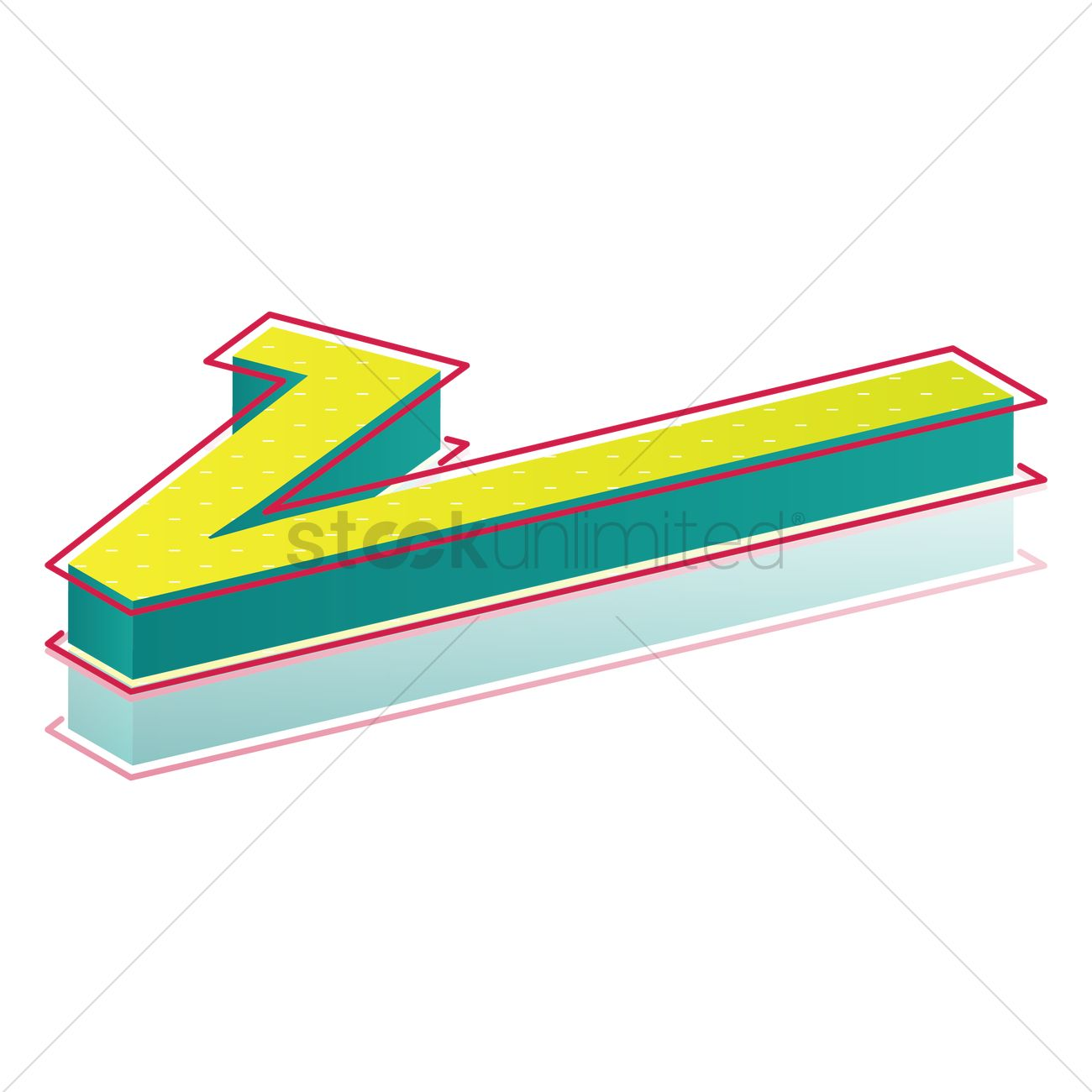 3d Square Root Symbol Vector Image 1827819 Stockunlimited