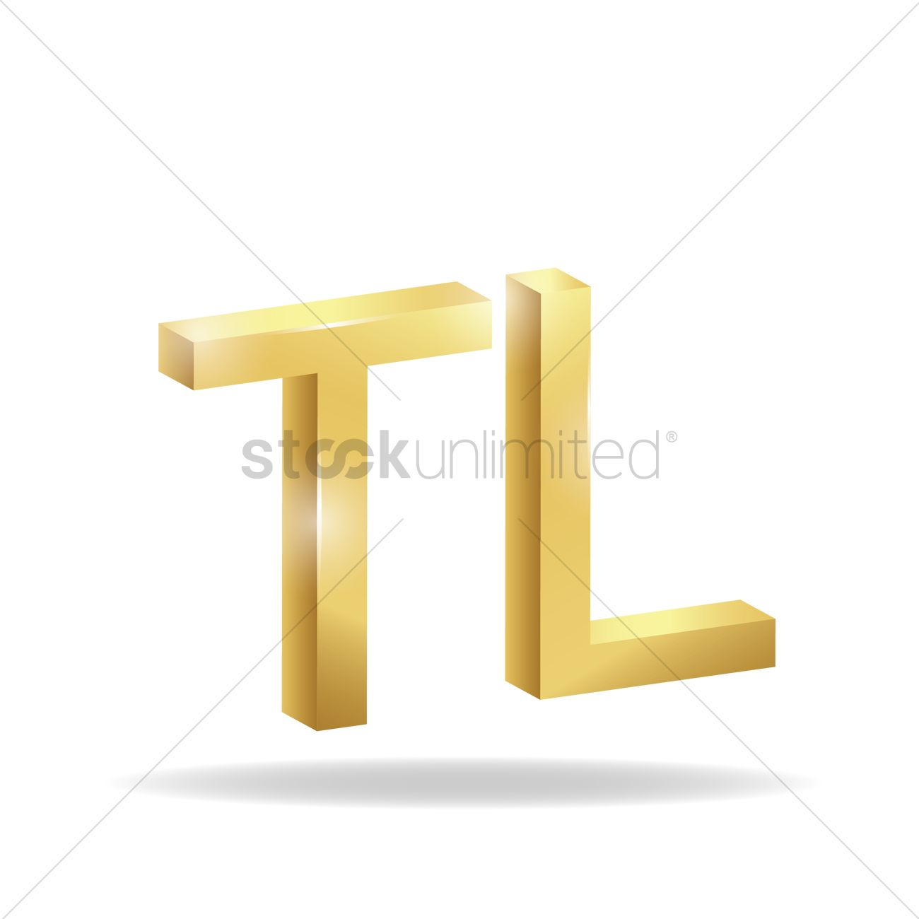 3d turkish lira currency symbol vector image 1827791 3d turkish lira currency symbol vector graphic biocorpaavc Images