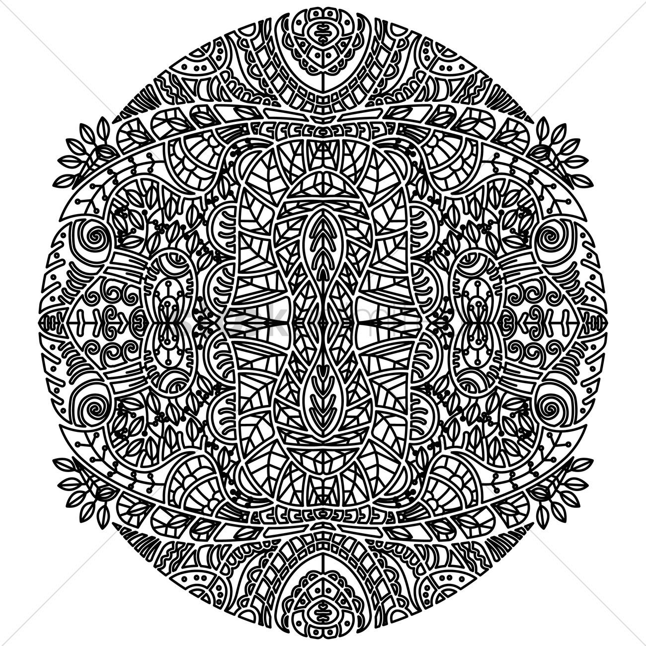 Uncategorized Intricate Pattern abstract intricate pattern design vector image 1959755 graphic