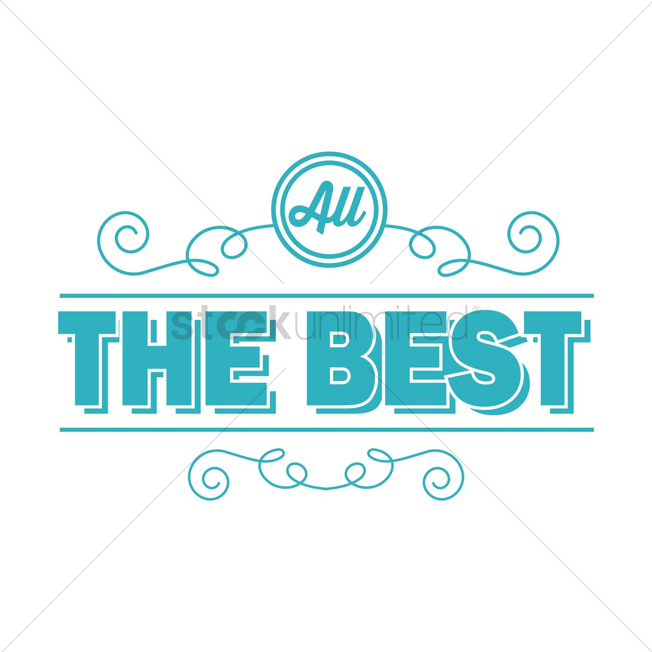 All the best greeting vector image 1811171 stockunlimited all the best greeting vector graphic kristyandbryce Image collections