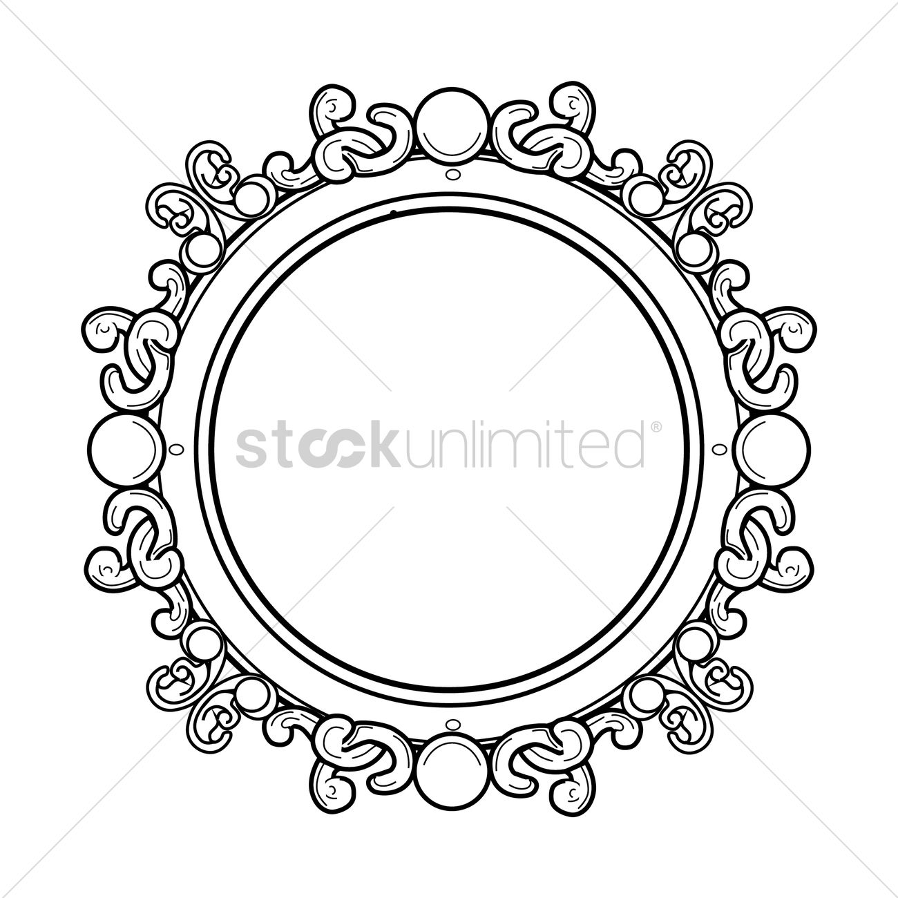 Antique frame drawing Cameo Antique Frame Vector Graphic Can Stock Photo Antique Frame Vector Image 1427167 Stockunlimited