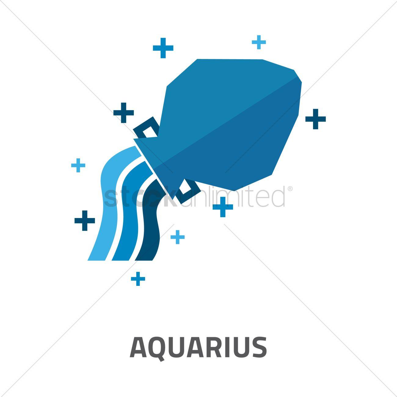 Aquarius horoscope design vector image 1969135 stockunlimited aquarius horoscope design vector graphic buycottarizona