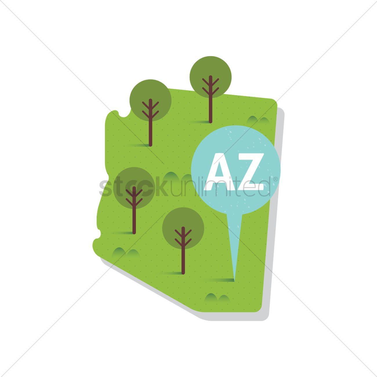 Arizona State Map Free.Free Arizona State Map Vector Image 1557055 Stockunlimited