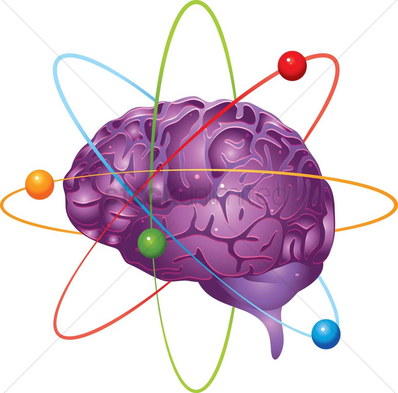 Free atom structure brain vector image 1238875 stockunlimited free atom structure brain vector graphic ccuart Image collections