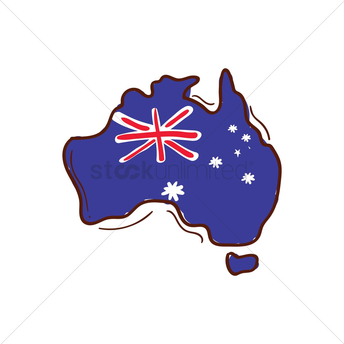 Australia Map Vector.Australia Map Vector Image 1949403 Stockunlimited