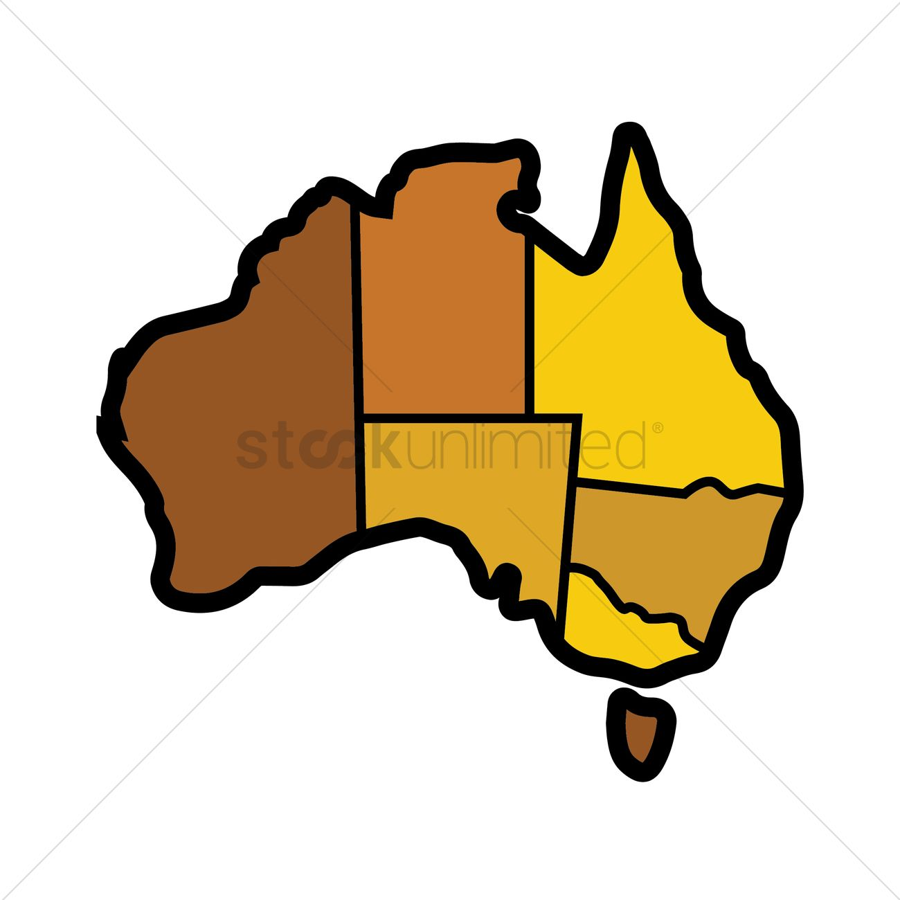 Australia Map Vector.Australia Map Vector Image 1952583 Stockunlimited
