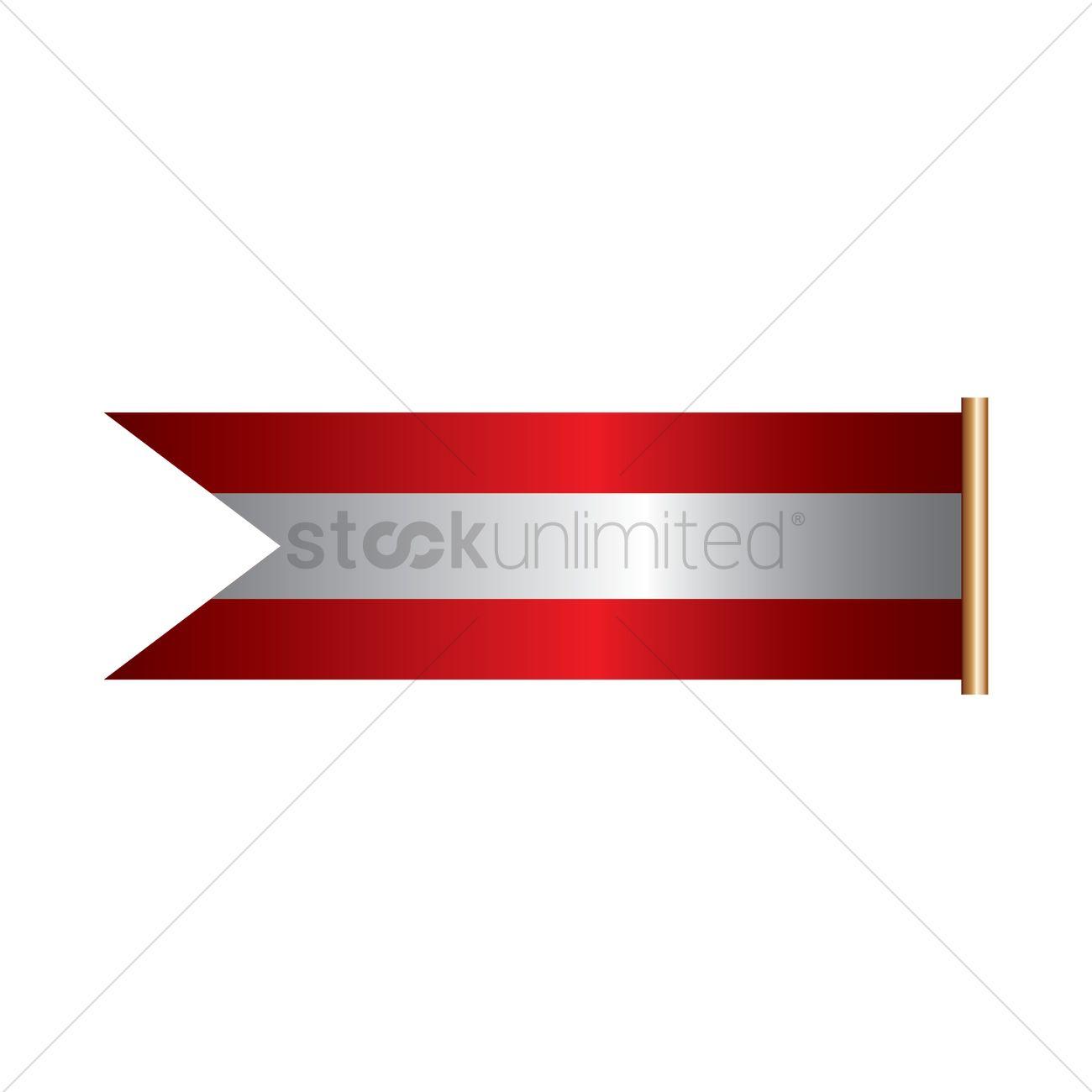 austria flag banner vector image 1960699 stockunlimited