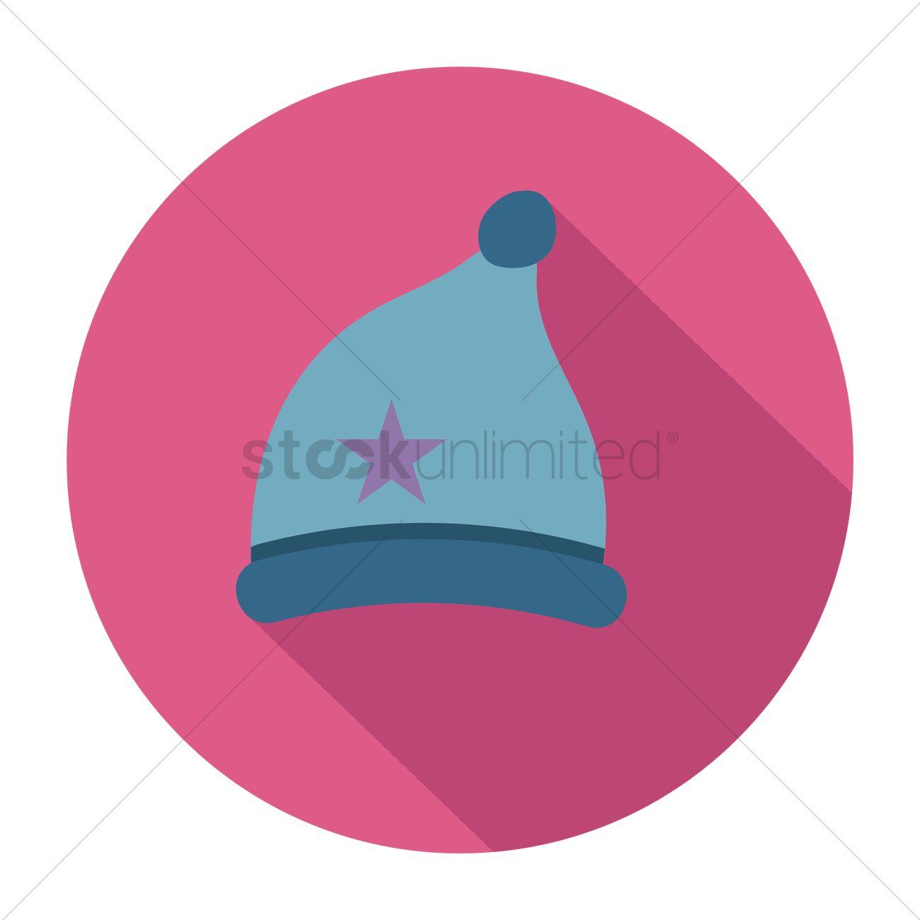 free baby cap vector image 1270255 stockunlimited rh stockunlimited com Baseball Hat Vector Winter Hat Vector