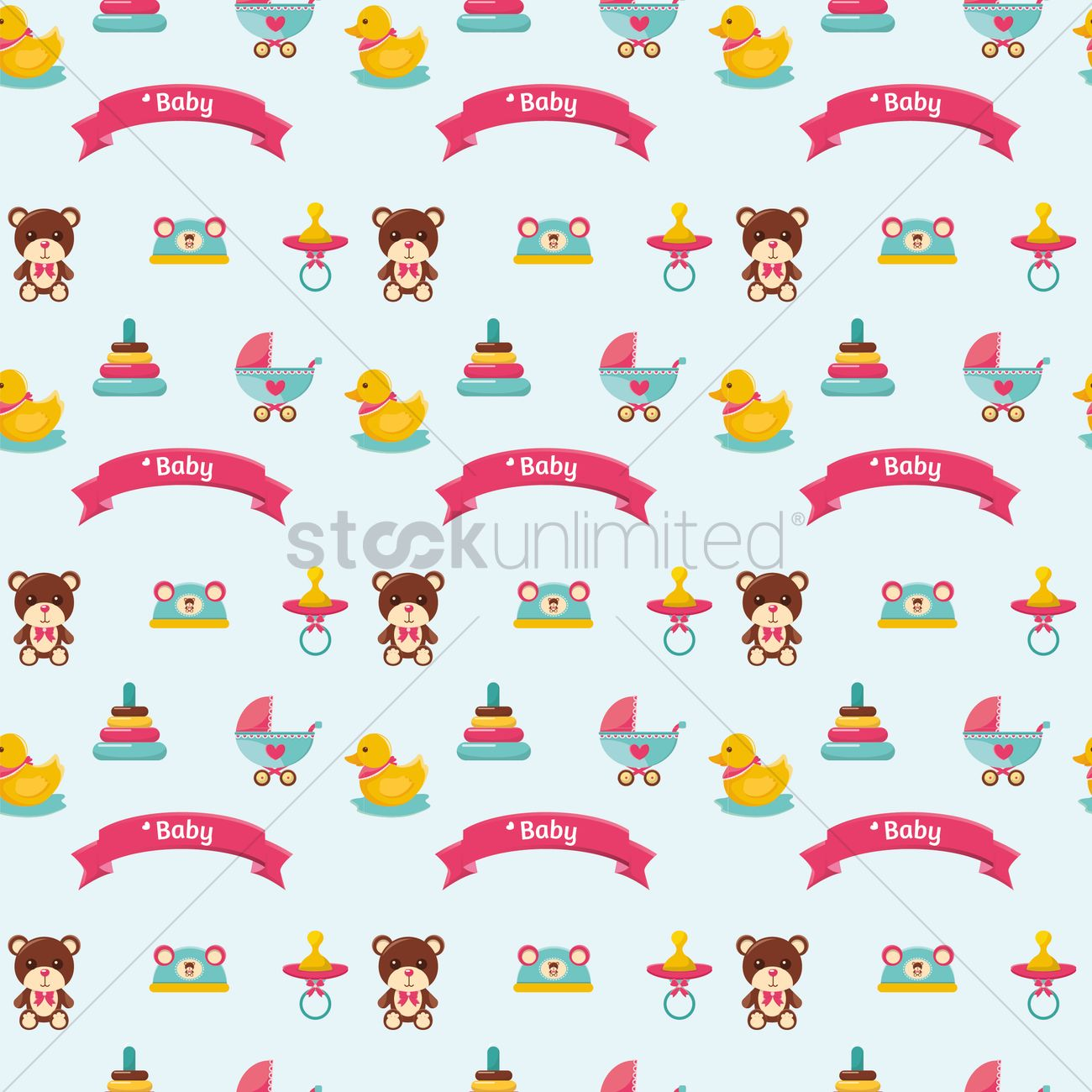 Free baby items background vector image 1296039 stockunlimited free baby items background vector graphic voltagebd Choice Image