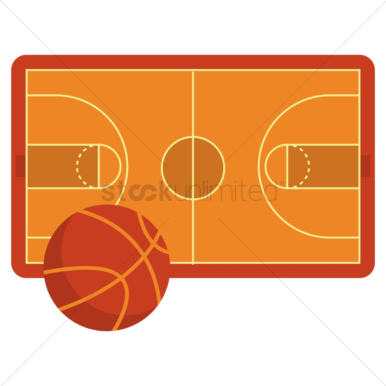basketball court vector image 1316031 stockunlimited rh stockunlimited com basketball court vector drawing basketball court vector image