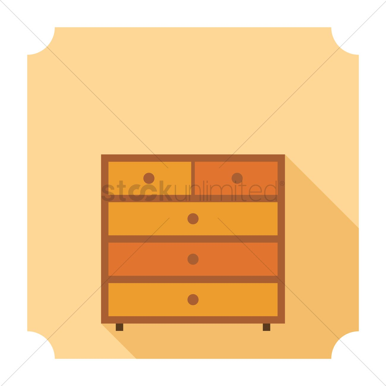 Bedside table clipart  Bedside table Vector Image - 1373935 | StockUnlimited