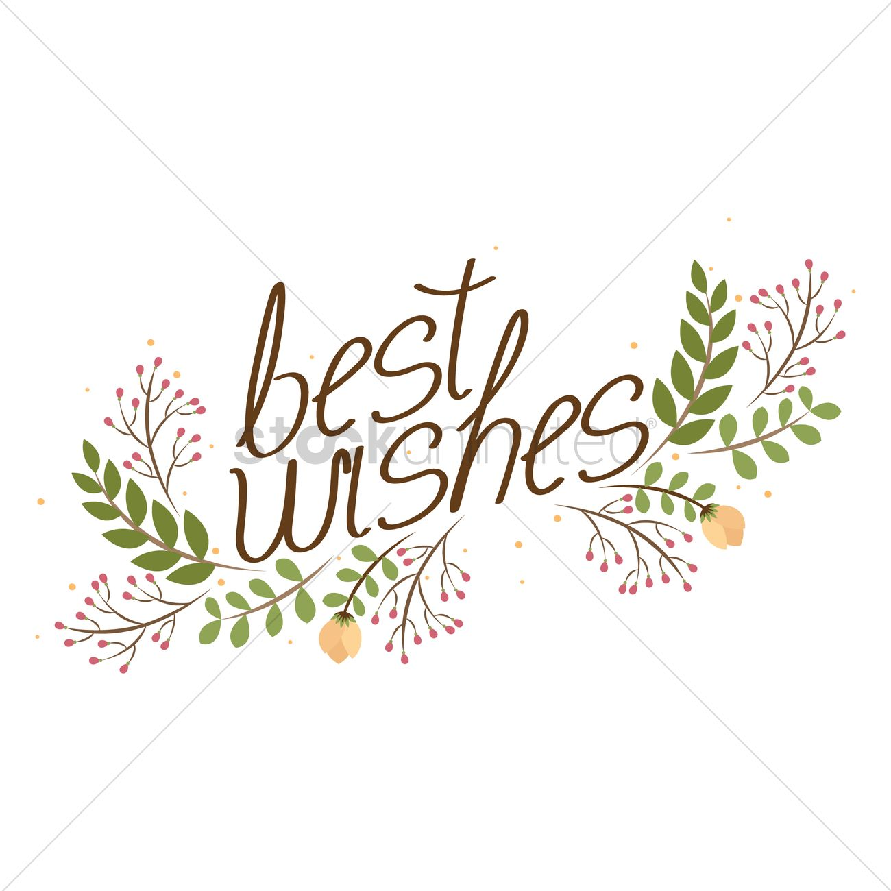 Best wishes Vector Image - 1603643 | StockUnlimited