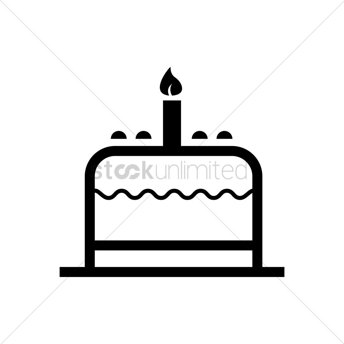Facebook Birthday Cake Icon