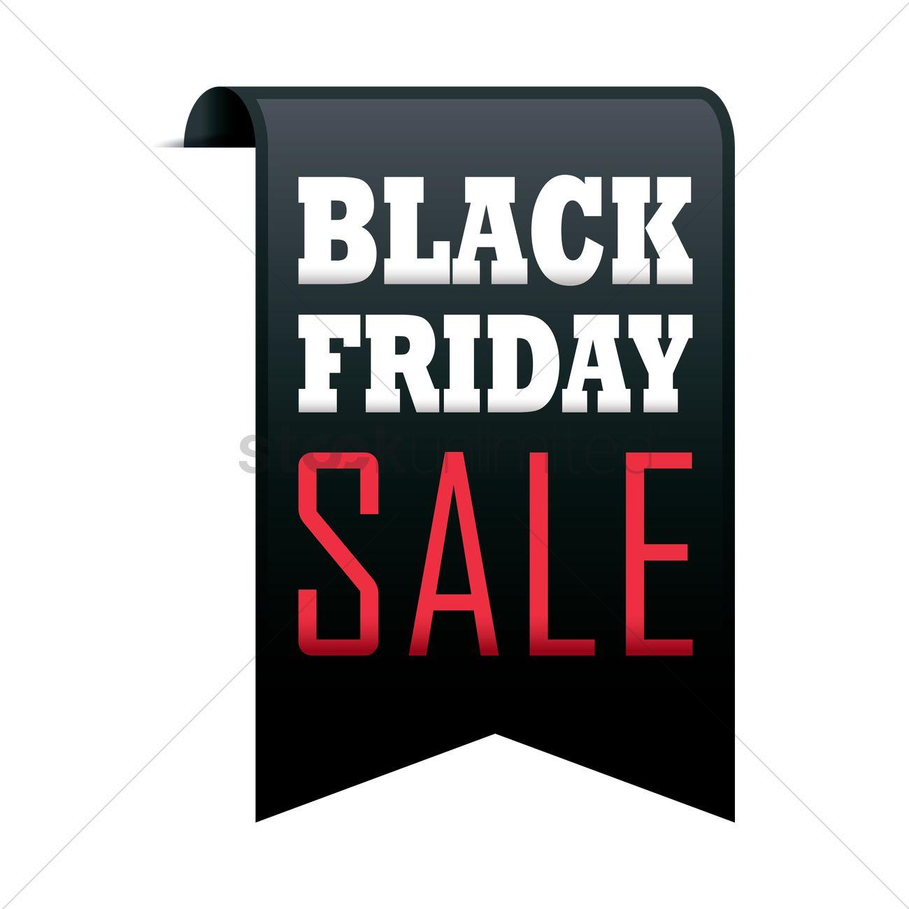 black friday sale banner vector image 1708887 stockunlimited. Black Bedroom Furniture Sets. Home Design Ideas