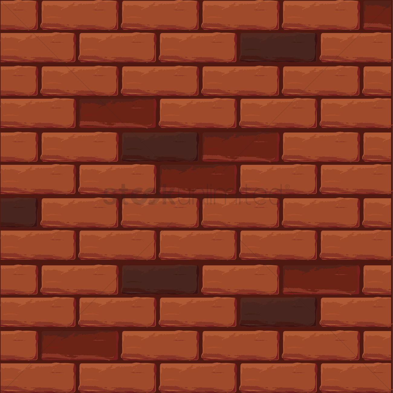 Free Brick Wall Texture Vector Graphic