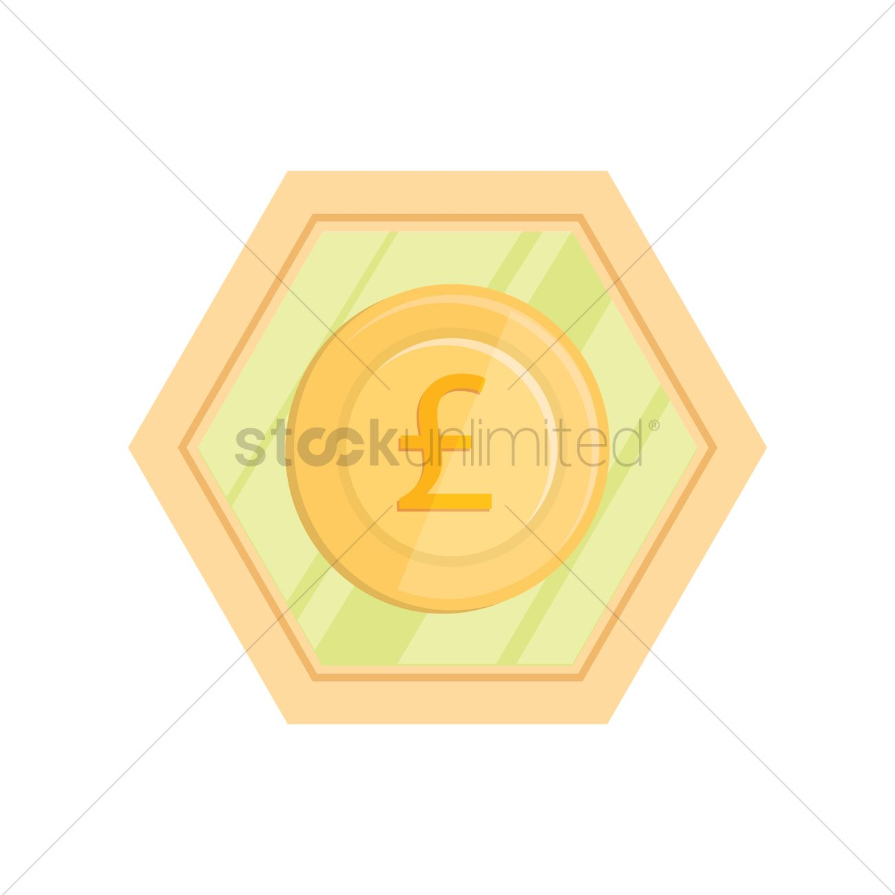 British Pound Currency Vector Image 1249467 Stockunlimited